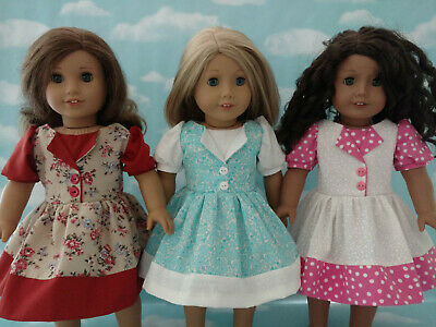 """18"""" Doll Dress fits 18 inch American Girl Doll Clothes 74abc"""