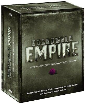 Coffret DVD: Boardwalk Empire (Saisons 1 à 4) NEUF