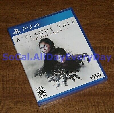 A Plague Tale: Innocence (PlayStation 4) >>>BRAND NEW, Unsealed, Complete<<< ps4