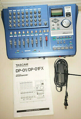TASCAM DP-01FX/CD 8-TRACK Hard Disk Recorder with CD Burner 06
