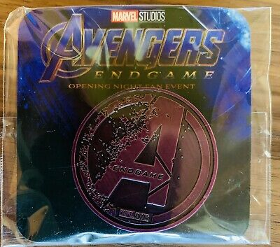 MARVEL AVENGERS ENDGAME Opening Night Fan Event exclusive Collectors Coin
