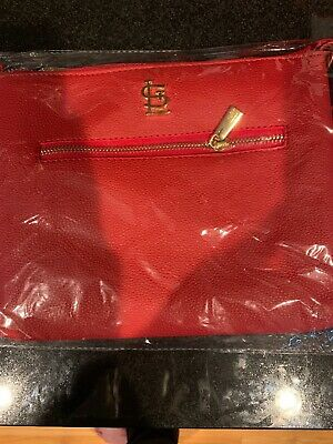 St. Louis Cardinals Red Cross Body Bag, Purse Mothers Day SGA 5/12/19 BRAND NEW