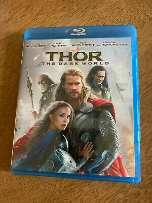 Thor: The Dark World (Blu-ray Disc, 2014) Excellent Condition