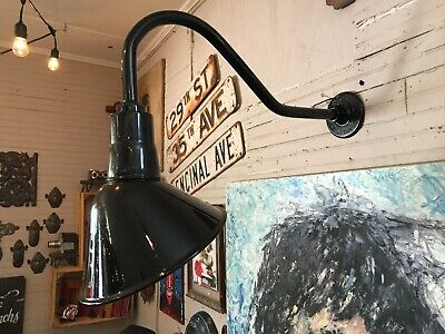 Angled Reflector Sign Lighting Gooseneck RLM BARN Gas Station Light