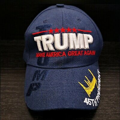 Mens Hat Donald Trump 45th President Make America Great Again Embroidered New