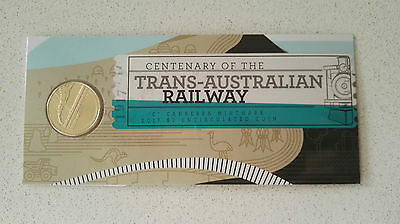 2017 Centenary of the Trans Australian Railway $1 Coin in a Sleeve *UNC*