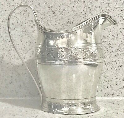 Antique rare English sterling silver Jug,1815 ,London