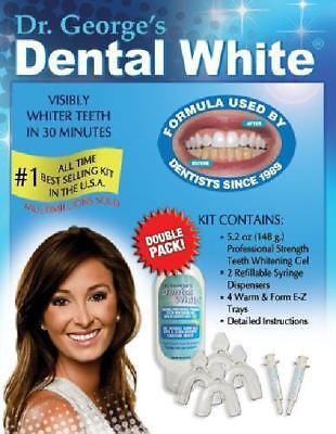 Bestselling Teeth Whitening Kit Dr.George Dental White  for Visible Whiter Teeth