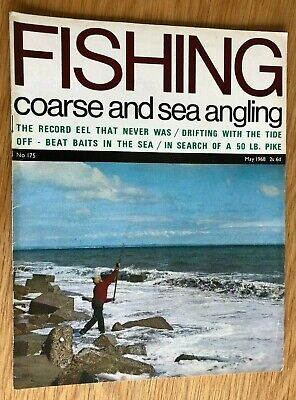 Fishing magazine - May 1968 No. 175 (The Tenchfishers, Tench, Eels, Pike etc)