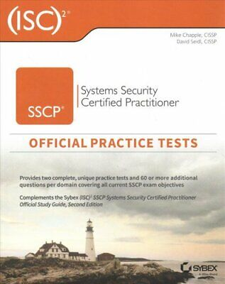 (ISC)2 SSCP Systems Security Certified Practitioner Official Pr... 9781119543053