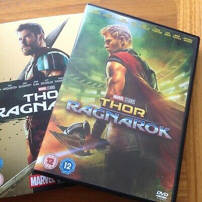 Thor Ragnarok DVD watched once