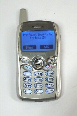 """ Sin Manual De Instrucciones "" Movil Panasonic Gd 55  No Funciona Volumen"