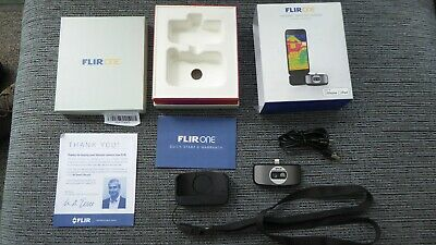 Flir One 1 MK II for Apple Ipad Iphone IOS. Thermal Image Camera Attachment
