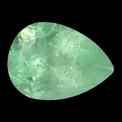 """10.77Ct """"AIG"""" CERTIFIED ! NATURAL GREEN COLOMBIAN EMERALD"""