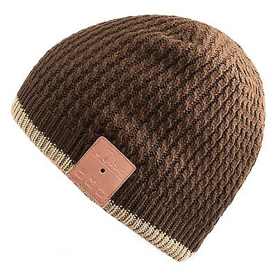 Rotibox Washable Bluetooth Music Beanie Hat Cap with Wireless Stereo Over Ears