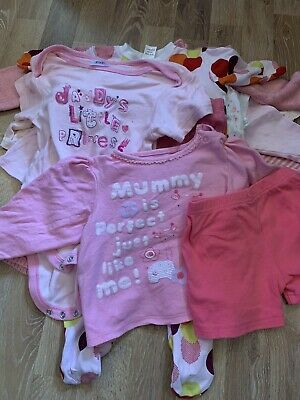 Baby Girl Bundle Of 13 Items Size 6-9 Months #2 Joblot Wholesale