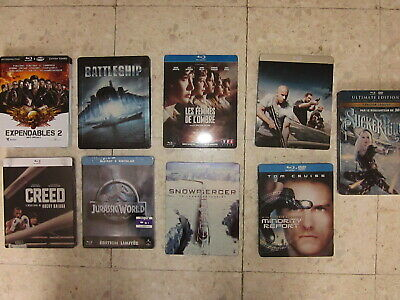 Lot Blu Ray Steelbook