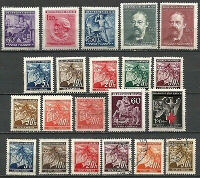 Germany Third Reich Occupation Bohemia (1939-1945) Mint and Used Issues #29