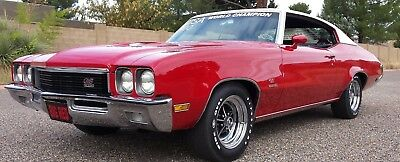 1972 Buick GS STAGE 1  GM HISTORIC CAR. BORN OUT OF BUICK MOTOR DIV. R AND D FOR THE1972 NHRA SEASON