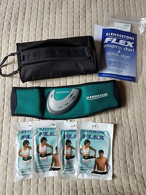 Slendertone flex belt, with 4 sets of adhesive pads