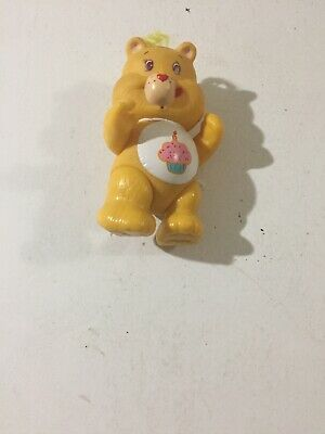 Vintage Care Bears Poseable Figure Birthday Bear 1983 Kenner 3.5'' Fast Shipping
