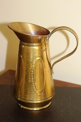 Art Nouveau Period Decorative  Brass Jug