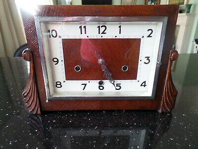 Smiths Empire wooden Mantle Clock needs servicing
