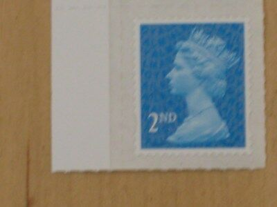 GB 2016 Second Class M16L No Code with SPT1 Paper - 2nd Mint