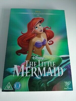 The Little Mermaid DVD Disney Classics 28 with Limited Edition Sleeve