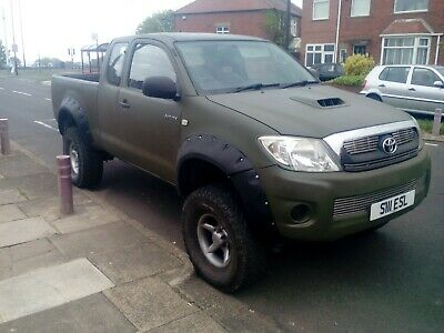 Toyota hilux king cab pickup