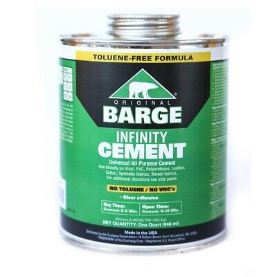 BARGE Infinity TF All-Purpose CEMENT Rubber Leather Shoe Glue 1 Qt (946 ml)
