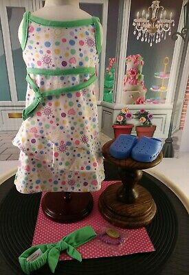 Special Edition American Girl Spring Dress and Headband.  NEW