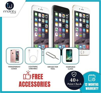 Apple iPhone 6 - 16GB, 32GB, 64GB, 128GB -Unlocked Various Colours - No touch ID