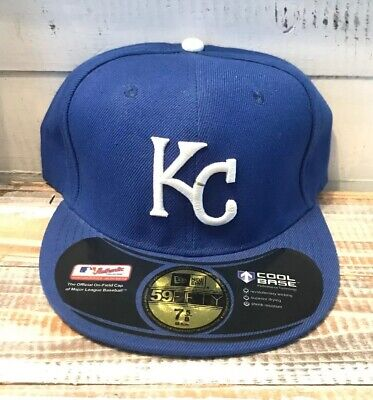 finest selection 0d351 f37b6 New Era Kansas City Royals GAME 59Fifty Fitted Hat (Royal Blue) MLB Cap 7