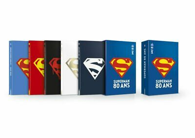 Coffret SUPERMAN 80 ANS (Urban Comics) NEUF 1000 Exemplaires SOLD OUT