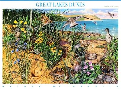 SC# 4352 - 2008 - 42¢ Nature of America - Great Lakes Dunes Sheet of 10