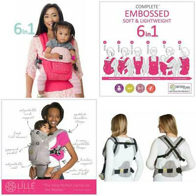 Líllébaby The Complete Embossed Luxe Six-Position 360° Ergonomic Baby  Child C