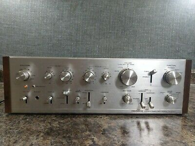 WORKING VINTAGE 70's PIONEER SA-9100 STEREO AMPLIFIER IN ORIGINAL CONDITION