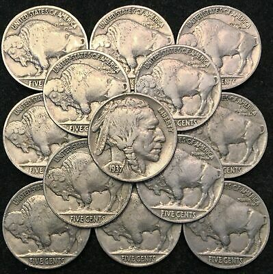 ✯ 1913-1938 Buffalo Nickels - ESTATE HOARD - (1) Coin for each BIN ✯