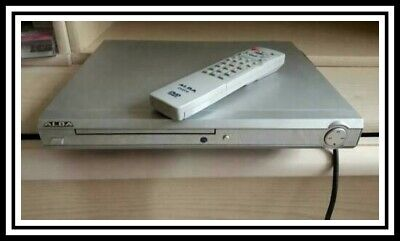 Compact Alba Dvd70, Silver Cd & Dvd Player + Remote + Scart Cable,