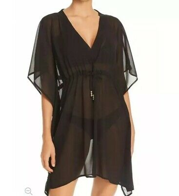 d7caa581f2066 Echo Swimwear One Size Butterfly Sleeve Tunic Cover Up Dress Nwot Msrp $49