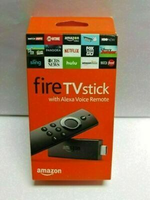 New Amazon Fire TV Stick with Alexa Voice Remote Streaming 2nd Gen  @