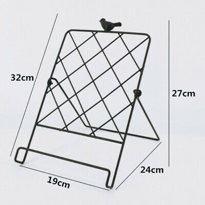 1pc Magazine Rack Simple Iron Art Creative Books Magazine Newspaper Stand Holder