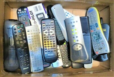 Lot Of 156 Remote Controls, Most Brands & All In Good+ Working Condition,