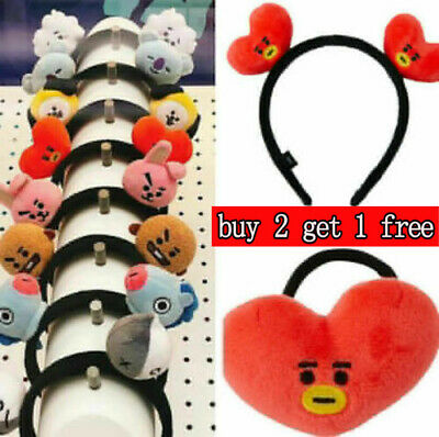 Kpop Headbands Hair Band Tie Hairpin Bangtan Boys CHIMMY Tuck Comb Gift WC