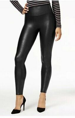 5dd8f34e9eb66 NEW SPANX READY To Wow! 2437 Sexy Faux Leather Black Legging Pants ...
