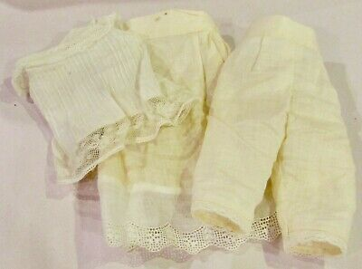 #143 Vintage Undies Outfit for Antique French or German Bisque Doll