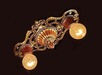 "Rare! ~  "" Markel Company ""  Vintage Victorian / Deco Antique Light Fixture ~"
