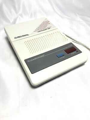 Bell Phones Answering Machine Answermate 250 With Microcassette