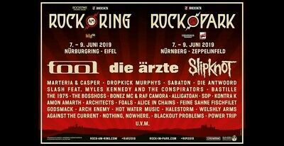 2 ROCK AM RING 2019 Weekend Festival Tickets + General Camping & Parking Ticket